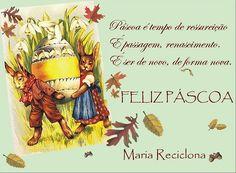** Maria Reciclona **: Decoração Reciclada para Páscoa