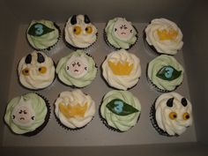 Where the Wild Things Are cupcakes for Andrew.