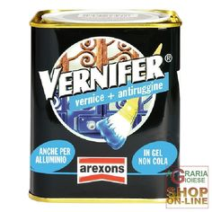 VERNIFER VERNICE A GEL CON ANTIRUGGINE GIALLO VIVO ML. 750 http://www.decariashop.it/home/17999-vernifer-vernice-a-gel-con-antiruggine-giallo-vivo-ml-750.html
