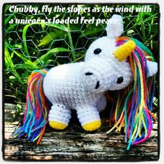 - Diego M.  Chubby, fly the slopes as the wind with a unicorn's loaded feel peace.   #loadedboards #chubbyunicorn #haiku