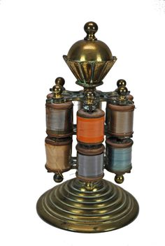 US $175.00 in Antiques, Sewing (Pre-1930), Spools & Thread