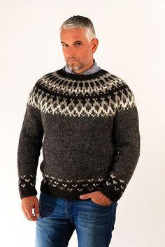 Skipper Wool Pullover Grey – Álafoss - Since 1896