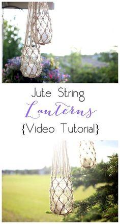 Jute+String+Lanterns