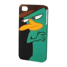 Perry the Platypus. I want!! iPhone 4s case on amazon.com