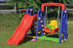 All 4 Kids Indoor Outdoor Kids Slide Swing Basketball Set Toddler Swing Set, Toddler Play, Playground Safety, Outdoor Playground, Indoor Play Equipment, Garden Equipment, Kids Indoor Playhouse, Indoor Slides, Swing And Slide