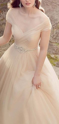 Off the Shoulder Wedding Ball Gown 2017