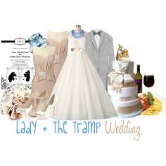 """""""Lady and the Tramp Wedding"""" by jami1990 on Polyvore"""