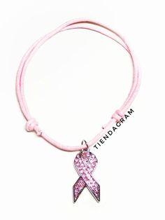 bfee11d40b39 Esta pulsera está creada y diseñada para el apoyo a la Asociación Española  contra el Cáncer
