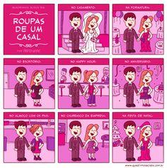 Roupas de um casal  rsrsrs é bem por aí! ;)