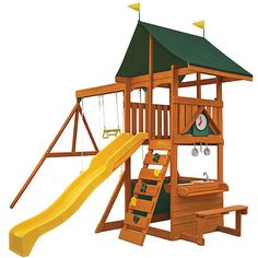 Big Backyard Adelaide Station Wooden Play Set