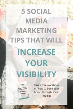 5 SOCIAL MEDIA MARKETING TIPS THAT WILL INCREASE YOUR VISIBILITY. Do you want to make sure your social media strategies are working as well as they could? These are the real reasons why your content isn't converting and five social media marketing tips to fix them. Click through to read the whole thing and download a free workbook on how to brand yourself using social media. #socialmediatips