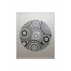 Viyet | Luxury Furniture Consignment - Accessories - Ruth Adler Gray Circles Print