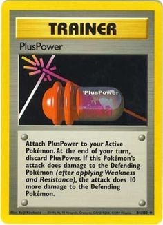 PlusPower hinnat | Pokemon Card hinnat