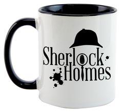 Caneca - Sherlock Holmes - Logo