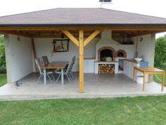 Pergola Garden, Outdoor Pergola, Backyard Patio, Outdoor Dining, Gazebo, Outdoor Decor, Rest House, Summer Kitchen, Earthship