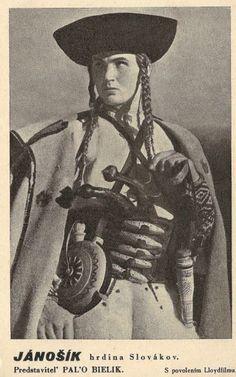 Janosik slovak /www.facebook.com/pages/Slovensko-na-historickych-fotografiach