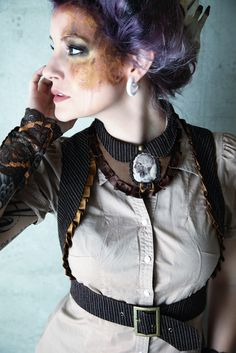 Steampunk affair de Arthemis Maskenbild