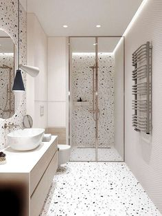 Modern Small Bathrooms, Dream Bathrooms, Beautiful Bathrooms, Girl Bathrooms, Master Bathrooms, Bathroom Small, Simple Bathroom, Cool Bathroom Ideas, Small Bathroom Designs