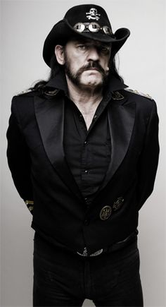 "Lemmy Kilmister- ""I'm an atheist and an anarchist."""