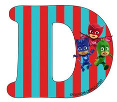 Hermoso Abecedario de los Héroes en Pijamas, o Pj Masks, como más te guste llamarlo. Todas las letras que contienen aCatboy, Gekko y Owlette se encuentran subidas al sitio en perfecta calidad de i… Pjmask Party, Peppa Pig, Cross Stitch, Banner, Letters, My Favorite Things, Gaia, Birthday Ideas, Alphabet