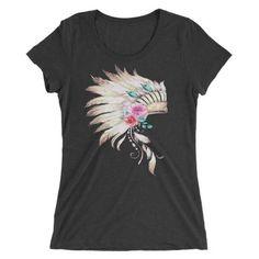 Headdress short sleeve t-shirt