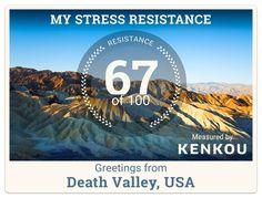 Greetings, I'm feeling good :) Send Your Stress Resistance Postcards via Breathe Pro