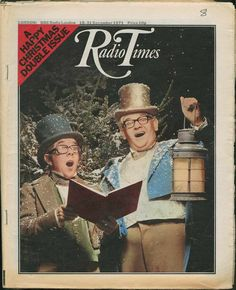For many, the Christmas 'Radio Times' is a tome of wonder during the festive period. Take a look at how times have changed with Christmas covers spanning 90 years.