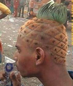 This man is a fruit loop