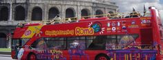#Rome The beauty of The Eternal City will take your breath away. Board our tour bus and you will not miss a single landmark or sight