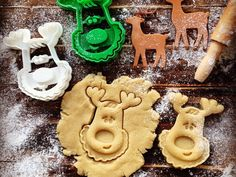 Rudolph the Reindeer Cookie Cutter by OogiMe - Thingiverse