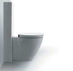 BO01 + CT09 | Bohemien Ceramica Simas Close coupled cistern with flush  machanism and special fixing set.