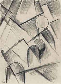 KURT SCHWITTERS (1887-1948) Z 100 HOCHGEBIRGE