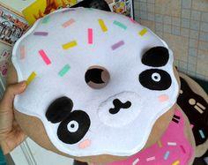 Panda - Panda Donut almohada - envío gratuito de la almohadilla
