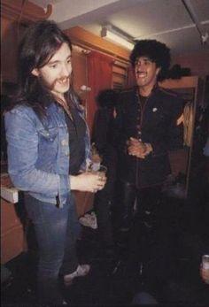 Motörhead - Lemmy and Thin Lizzy - Phil Lynott