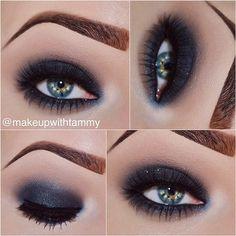 Photo by Tammy Jansky(makeupwithtammy): Smokey Eye  ✨Details✨ • @maccosmet... | iPhoneogram