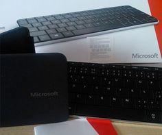 Microsoft: tastiera e mouse a cuneo per Win8
