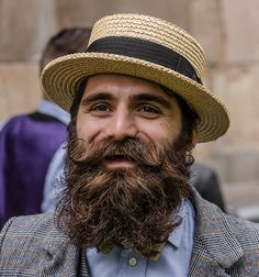 What a glorious beard.
