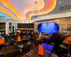 Wonderful Chaobaby Birmingham Restaurant Interior With Modern Contemporary Decoration Ideas For Inspiration Home Style