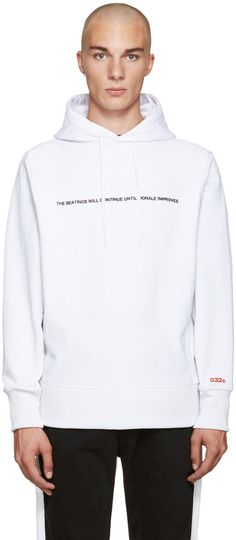 032c White Pyrate Society Hoodie