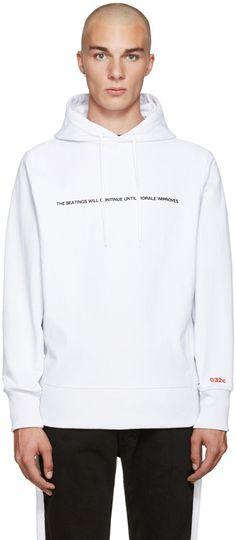 032c White Pyrate Society Hoodie