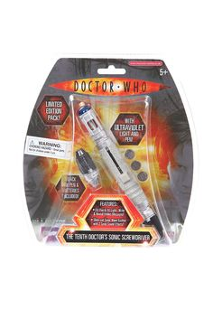 Doctor Who 10's sonic screwdriver