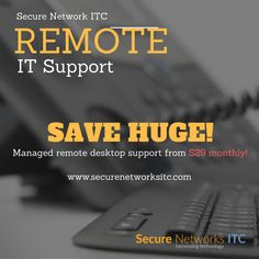 Remote Technical Support Read about  major advantages of our remote computer support 👉👉https://goo.gl/mDaORM  SecureNetworksITC.com  SecureNetworksITC.com 📧 sales @securenetworksitc.com ☎️ +1 (858) 769-5393