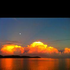 Sunset in Culebra, PR