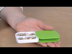 4 Compartment Pill Case -- Promotional Gifts at 4imprint