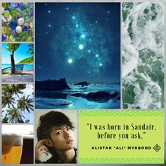 Aesthetic for the character of Alistar. Mina's best friend and the only Neu Bosan in the academy.