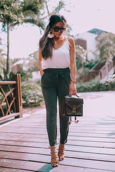 A Comfy, Yet Chic Outfit To Wear To Work or Vacay