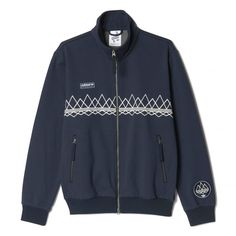 adidas Spezial Sudell Track Top Jacket (dark blue / dark blue) - Free Shipping starts at 75€ - thegoodwillout.com