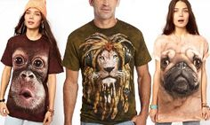 Groupon - The Mountain 3D Effect Print Adult Unisex T-Shirts in Choice of Design for £12.98 in [missing {{location}} value]. Groupon deal price: £12.98