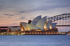 Sydney Opera House – Sydney, Australia - When They Were Young Iconic Buildings Under Construction Best of Web Shrine Bohol, Jorn Utzon, Modern Architects, Aalborg, Sydney Australia, Australia Travel, Cairns, South Wales, Ocean Waves