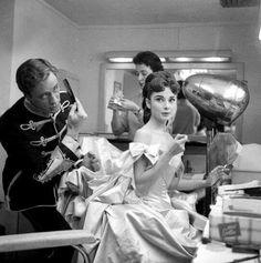 Audrey Hepburn and Mel Ferrer-Mayerling-1957